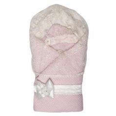 Конверт-одеяло Сонный Гномик Жемчужина (розовый)
