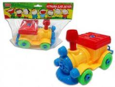 """Конструктор Zhorya """"Игрушки для детей!"""" - Поезд"""