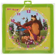 Доска для рисования Играем Вместе Маша и Медведь часы+фломастер