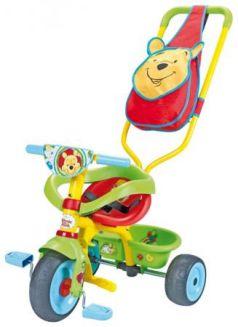 Велосипед трехколёсный Smoby Be Fun Confort Winnie зеленый 444160