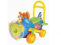 Каталка-машинка Kiddieland Тигруля с пропеллером пластик от 1 года музыкальная разноцветный KID 037499