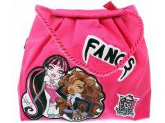Сумка Monster High Fangs 1361 розовый рисунок