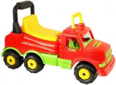 Каталка-машинка R-Toys Буран-1 Wader пластик от 1 года красный