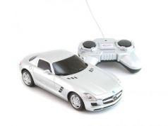 Машинка на радиоуправлении Welly Mercedes-Benz SLS AMG серебристый от 3 лет пластик 84002W