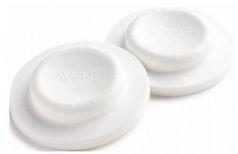 Крышка-заглушка Avent SCF143/06 силиконовая для бутылочки 6 шт белый