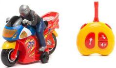 Мотоцикл на радиоуправлении Kiddieland Гонщик красный от 3 лет пластик KID051342