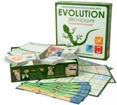 Эволюция. Подарочный набор. 3 выпуска игры + 18 новых карт