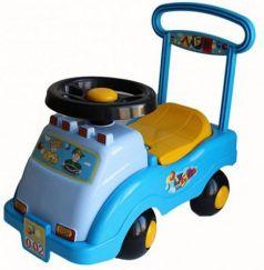 Каталка-машинка Совтехстром Автомобиль №2 пластик от 1 года голубой У439