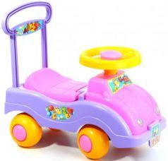 Каталка-машинка Совтехстром Автомобиль для девочек пластик от 1 года цвет в ассортименте У447