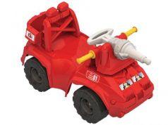 Каталка-машинка Нордпласт Пожарная машина пластик от 1 года красный 431014