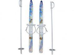 Лыжи детские Лыжики пыжики с палками 75 см  66521