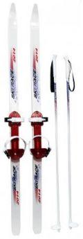 Лыжи подростковые Ski Race с палками 120/95 Дартс-Ковров Лыж 36527