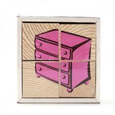 Кубики Томик Мебель 4 шт 3333-5