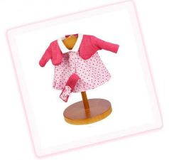 Одежда для кукол Munecas Antonio Juan бело-розовый вязанный 0126