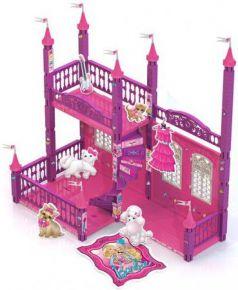 Замок для кукол Нордпласт Домик Барби 121 предмет 592