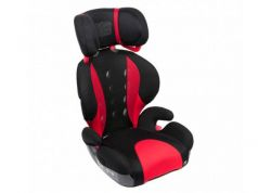 Автокресло Carmate/Ailebebe Saratto Highback Junior Quattro (черно-красное)