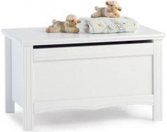 Ящик для игрушек Erbesi Sonia без колёс белый дерево