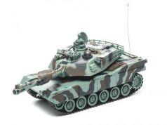 Танк на радиоуправлении Пламенный Мотор Abrams M1A2 (США) 1:28 камуфляж от 4 лет пластик 87556