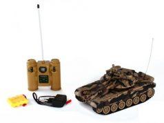 Танк на радиоуправлении Пламенный Мотор Т-90 (Россия) 1:28 коричневый от 4 лет пластик 87555