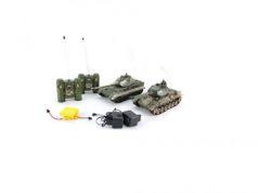 Танковый бой на радиоуправлении Пламенный мотор Т-34 (СССР) vs King Tiger (Германия) 1:28 от 6 лет пластик 870164