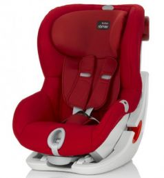 Автокресло Britax Romer King II LS (flame red trendline)