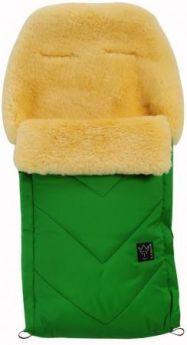 Конверт меховой Kaiser Dublas (зеленый)