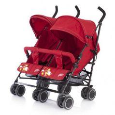 Коляска-трость для двойни Baby Care Citi Twin (red)