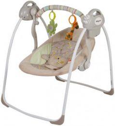 Электронные качели Baby Care Riva (кофейный)
