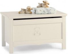 Ящик для игрушек Erbesi Incanto (слоновая кость)