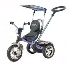 Велосипед трехколёсный Lexus Trike Icon 4 RT Original silver blue puma car
