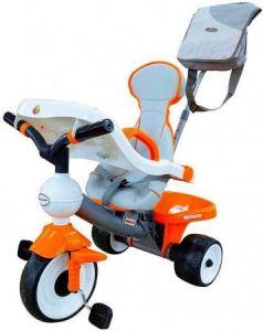 Велосипед трехколёсный Coloma Comfort Angel DI Orange с игровой панелью оранжевый 46581