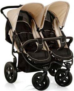 Прогулочная коляска для двоих детей Hauck Roadster Duo SLX (caviar/almond)