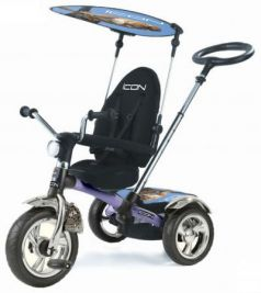 Велосипед трехколёсный Lexus Trike ICON 3 RT original silver blue puma