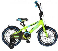 "Велосипед двухколёсный Velolider RUSH SPORT 16"" зеленый R16G"