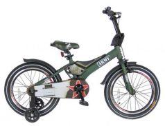 "Велосипед двухколёсный Velolider RUSH ARMY 16"" RA16 хаки"