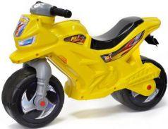Каталка-беговел двухколёсный RT Мотоцикл Racer RZ 1 желтый ОР501