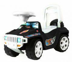 Каталка-машинка Rich Toys Race Mini Formula 1 пластик от 10 месяцев с ручкой черный ОР419