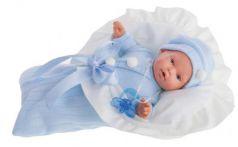 Кукла Munecas Antonio Juan Ланита в голубом 27 см плачущая 1110B