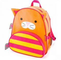 Дошкольный рюкзак Skip Hop Кошка 8 л оранжевый SH 210217