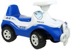 Каталка-машинка Rich Toys Джипик POLICE пластик от 8 месяцев с клаксоном ОР105 бело-синяя