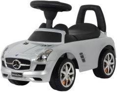 Каталка-машинка Rich Toys Mercedes-Benz пластик от 1 года музыкальная серебро металлик 332Р