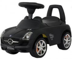 Каталка-машинка Rich Toys Mercedes-Benz пластик от 1 года музыкальная черный матовый 332Р