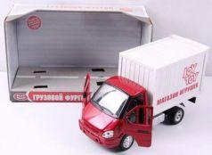 Интерактивная игрушка Play Smart Газель фургон Игрушки от 3 лет бело-красный Р40519