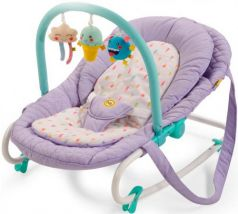 Шезлонг Happy Baby Nesty (violet)