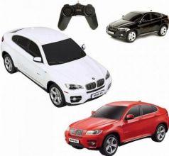 Машинка на радиоуправлении Rastar BMW Х6 1:24 ассортимент от 3 лет пластик в ассортименте 31700