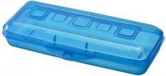 Пенал пластиковый Action! Премиум ПН18 небесно-синий