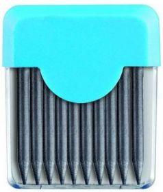 Пенал с 10 запасными грифелями, диаметр 2 мм 134210