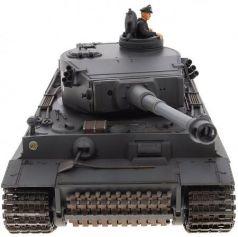 Танк на радиоуправлении VSP German King Tiger I серый от 14 лет пластик 628437