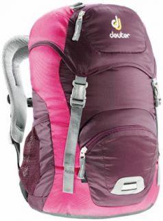 Школьный рюкзак Deuter JUNIOR 18 л бордовый розовый 36029-5509