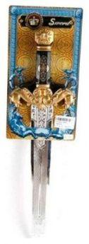 Оружие Shantou Gepai Меч Рыцарский серебристый золотистый Т57391